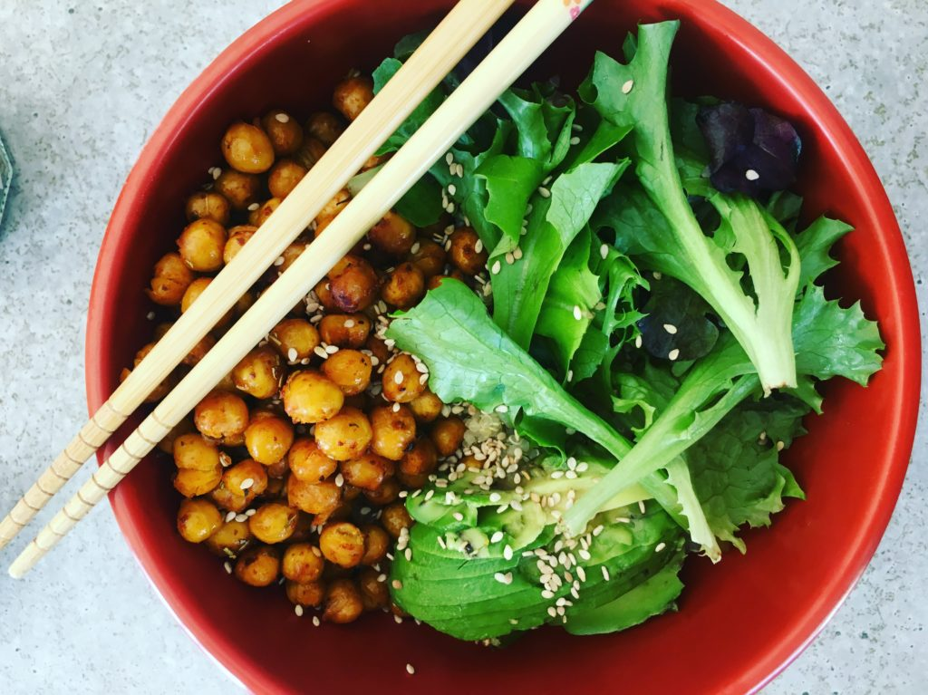 greens & roses menus végétariens