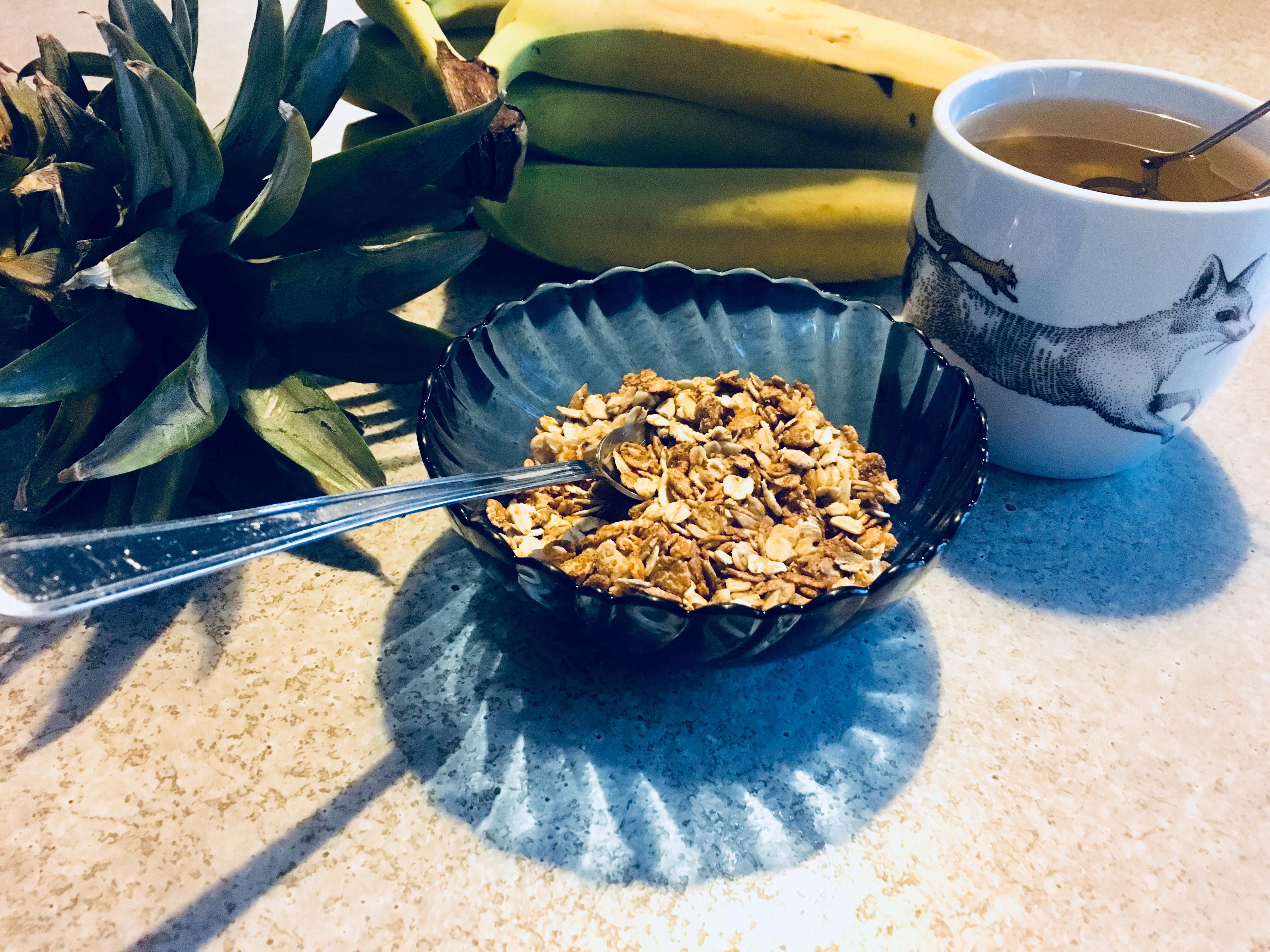 granola au peanut butter