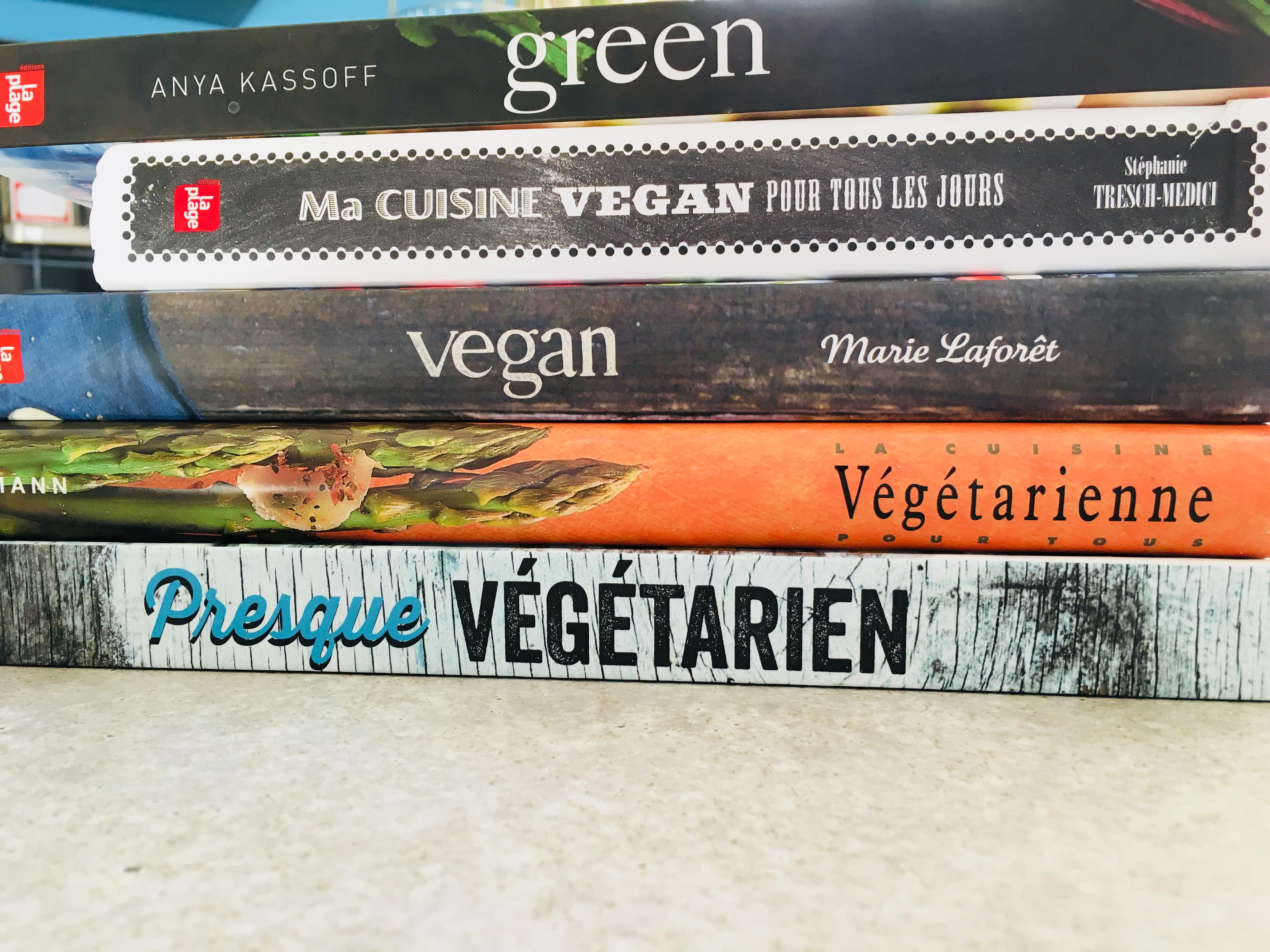 Top 5 livres végétariens