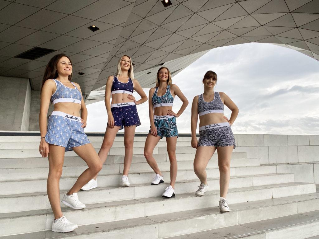 vêtements de sport les poulettes fitness