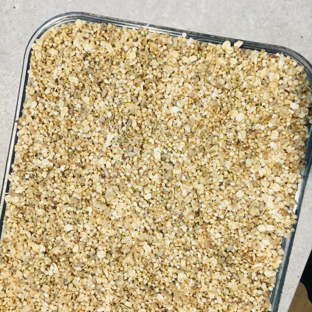 granola protéiné maison