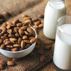 lait d'amande maison