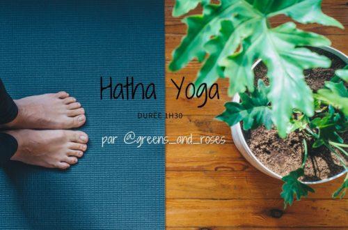Hatha yoga en ligne