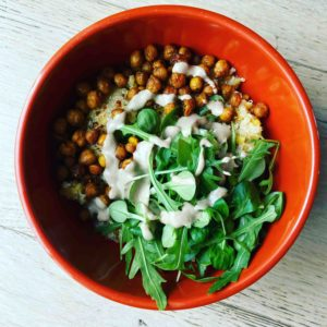 buddha bowl vegan simple